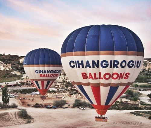 balon-udara-terbang