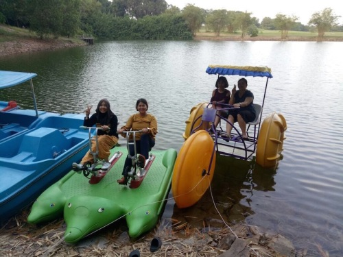 paddleboat-danau-bintan