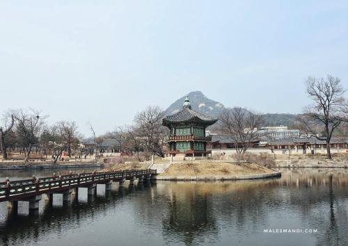 danau-istana-gyeongbok
