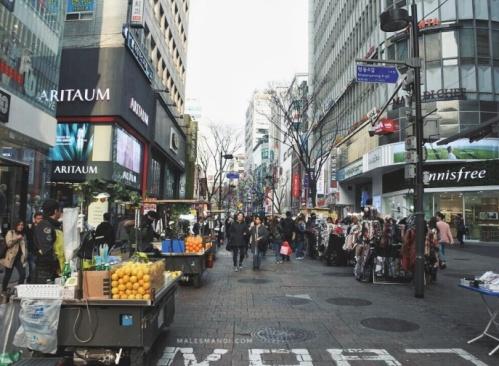 myeong-dong-korea