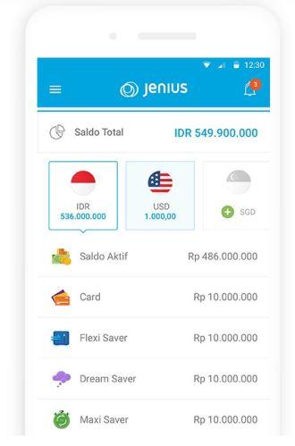 Jenius-aplikasi